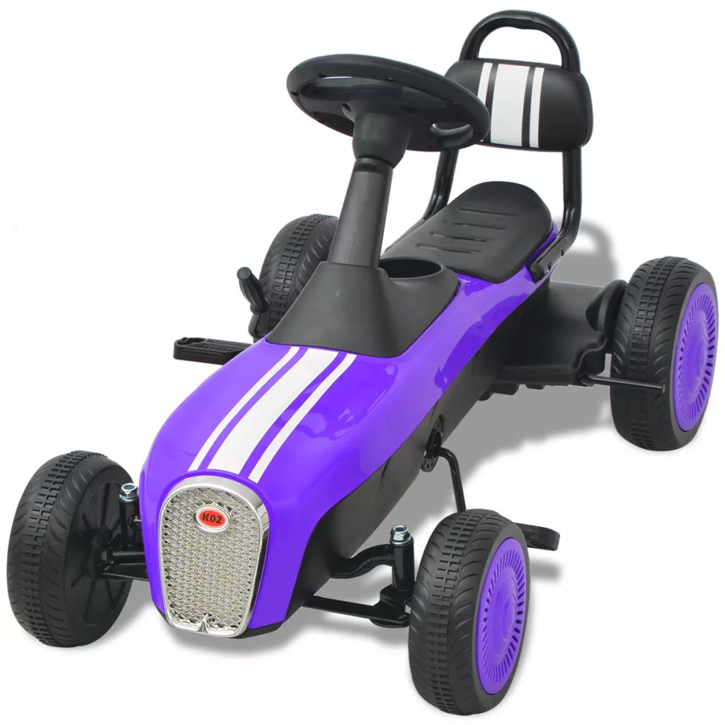 Pedal Go Kart Purple