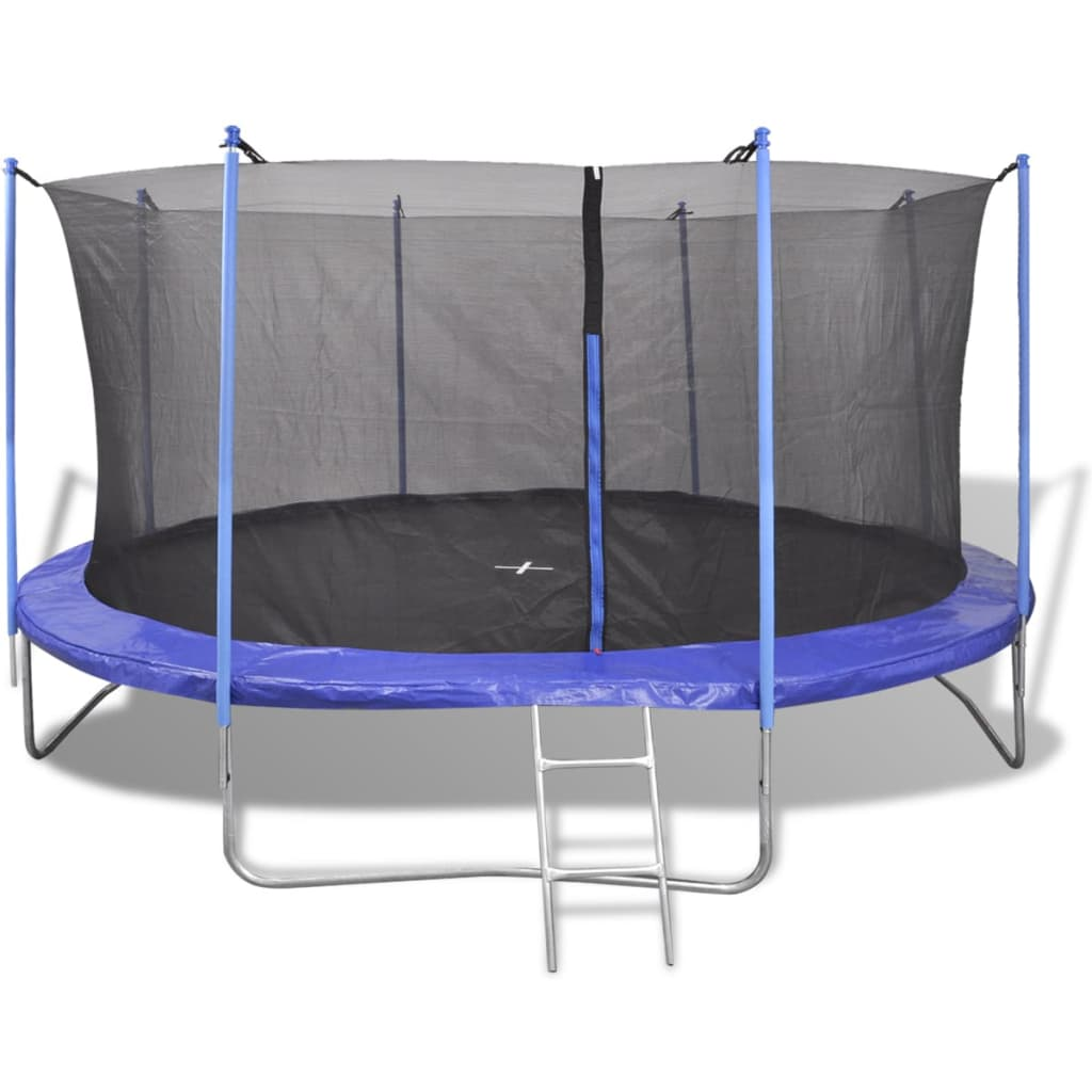 Five Piece Trampoline Set 4.57 m