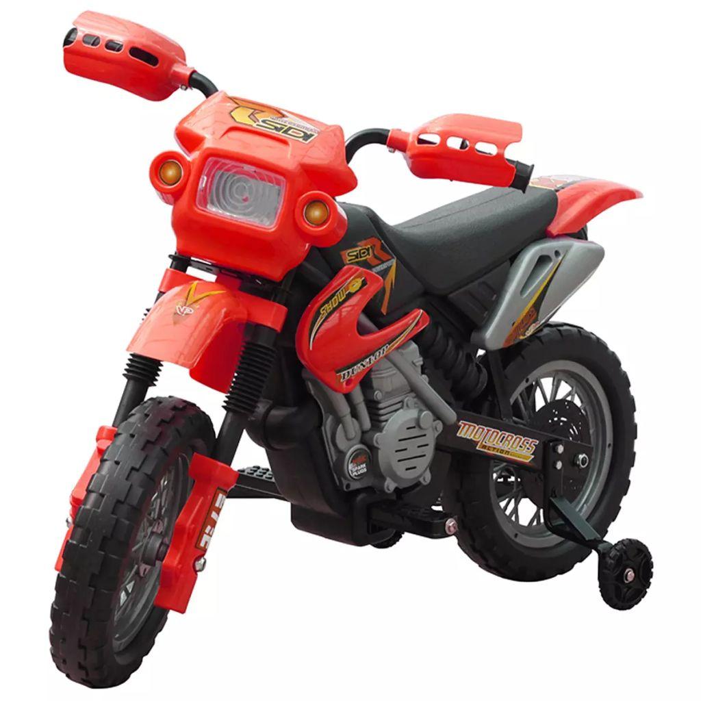 Kids Electric Red Motorbike
