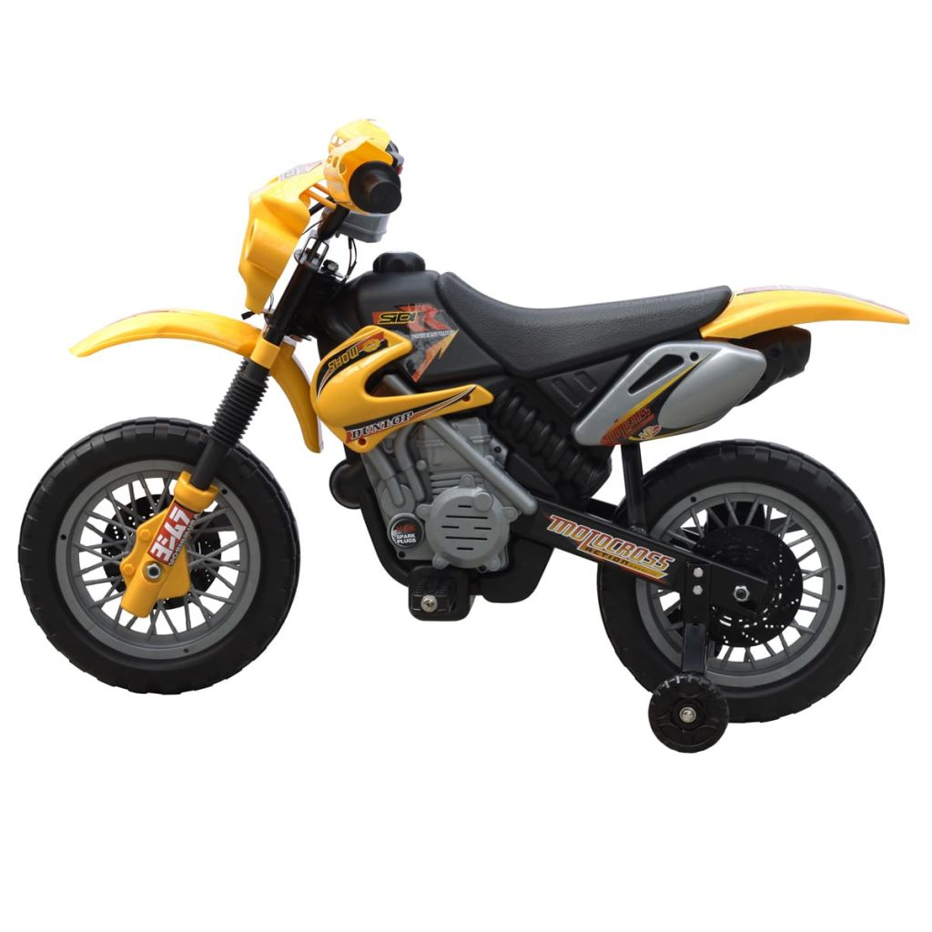 Kids Electric Yellow Motorbike