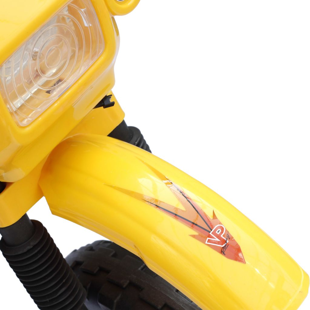 Kids Electric Yellow Motorbike