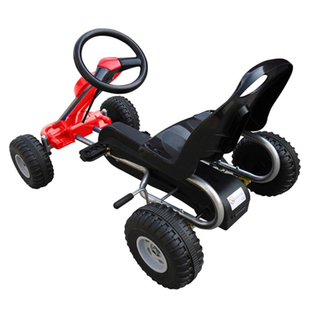 Pedal Go Kart Red