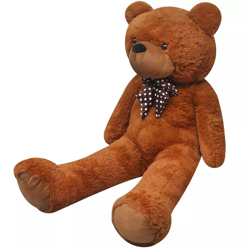 XXL Soft Plush Teddy Bear Toy Brown 150 cm