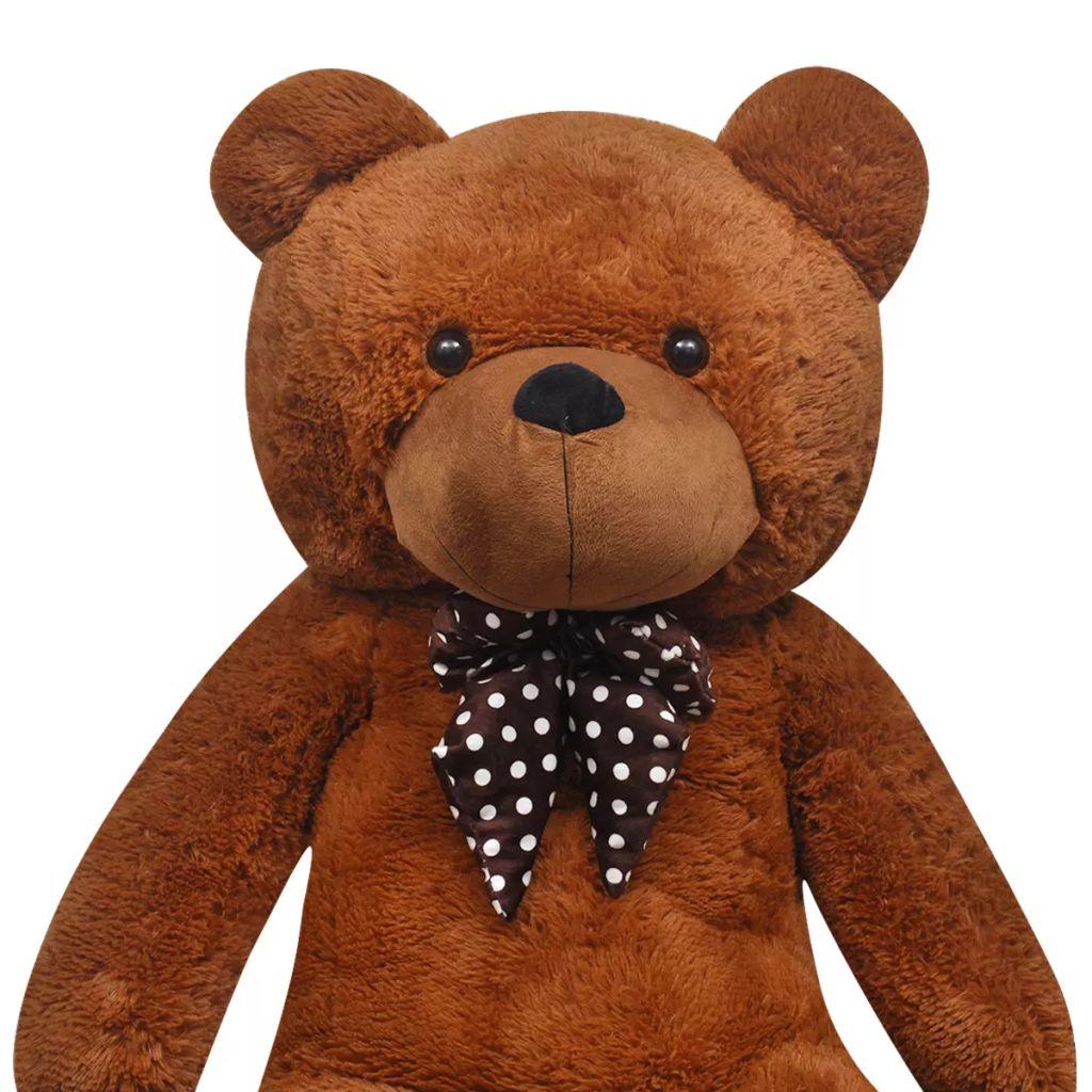 XXL Soft Plush Teddy Bear Toy Brown 175 cm
