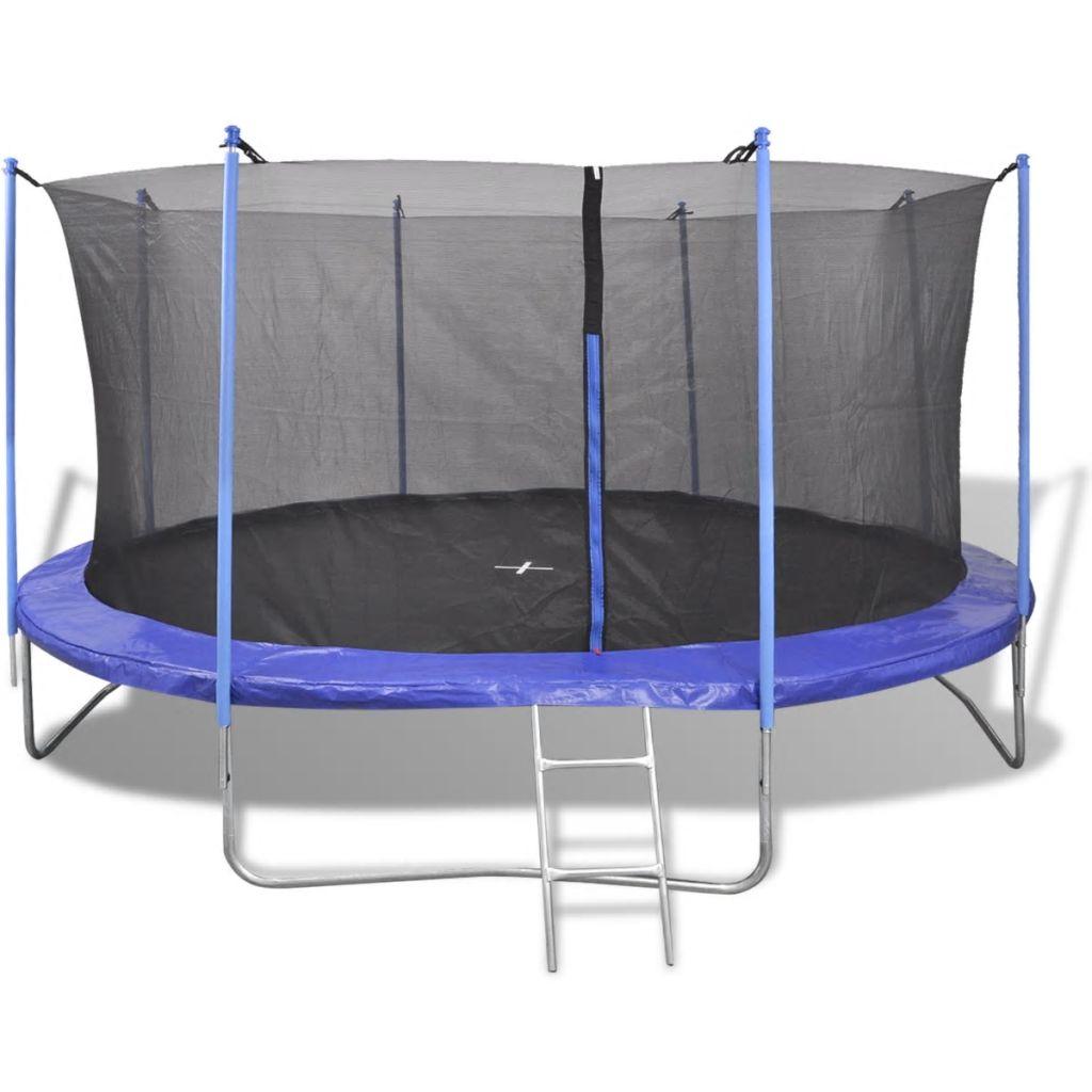 Five Piece Trampoline Set 3.66 m