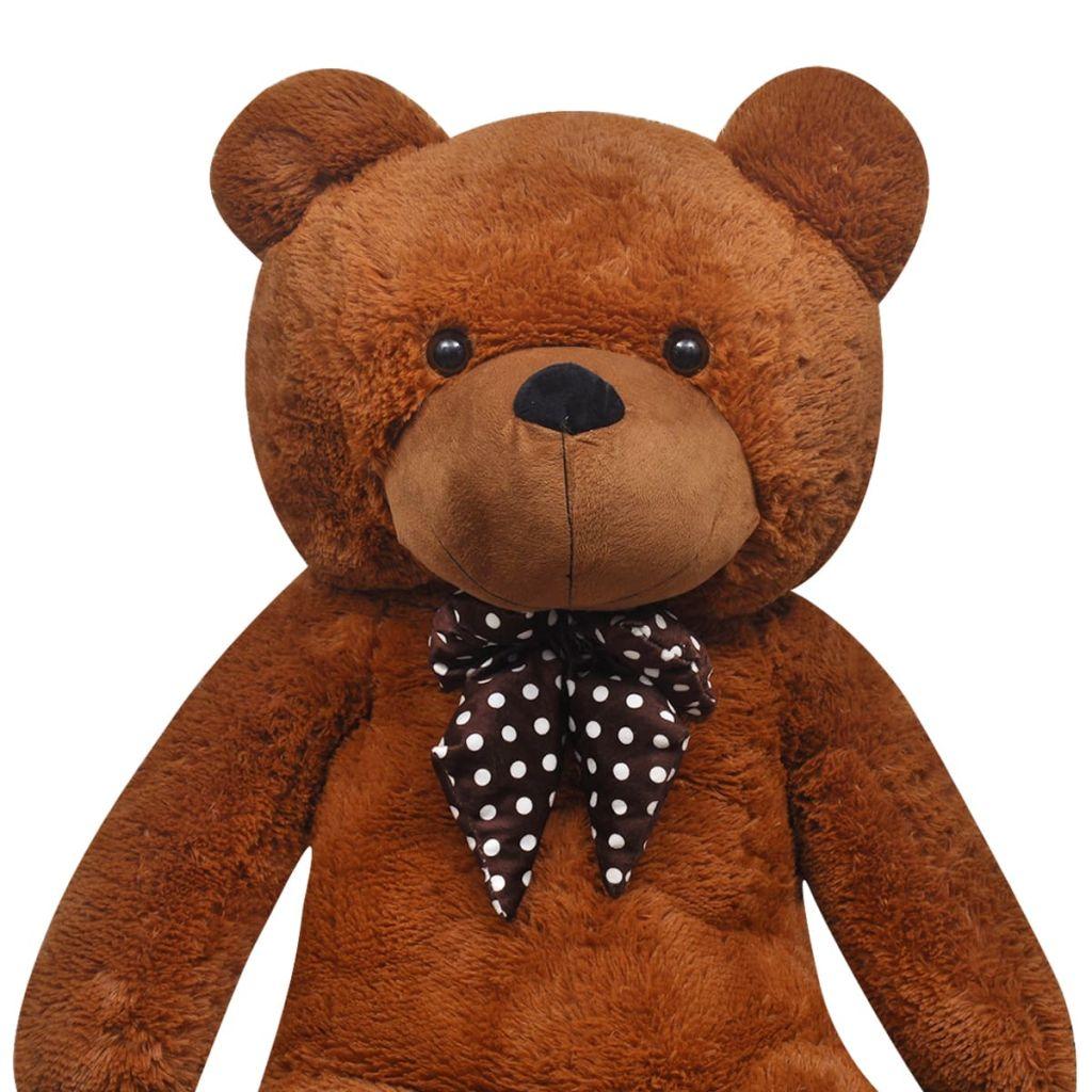 Teddy Bear Cuddly Toy Plush Brown 200 cm