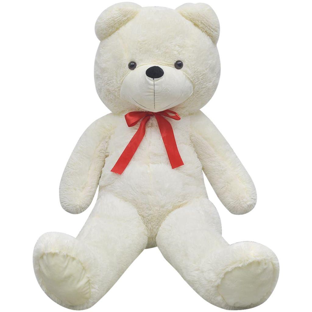 Teddy Bear Cuddly Toy Plush White 200 cm