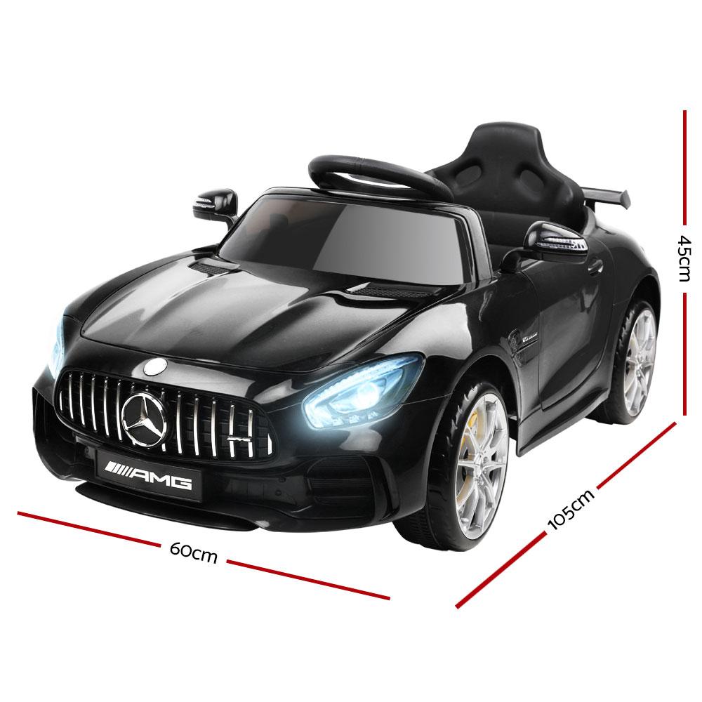Kids Ride On Car MercedesBenz AMG GT R Electric Black