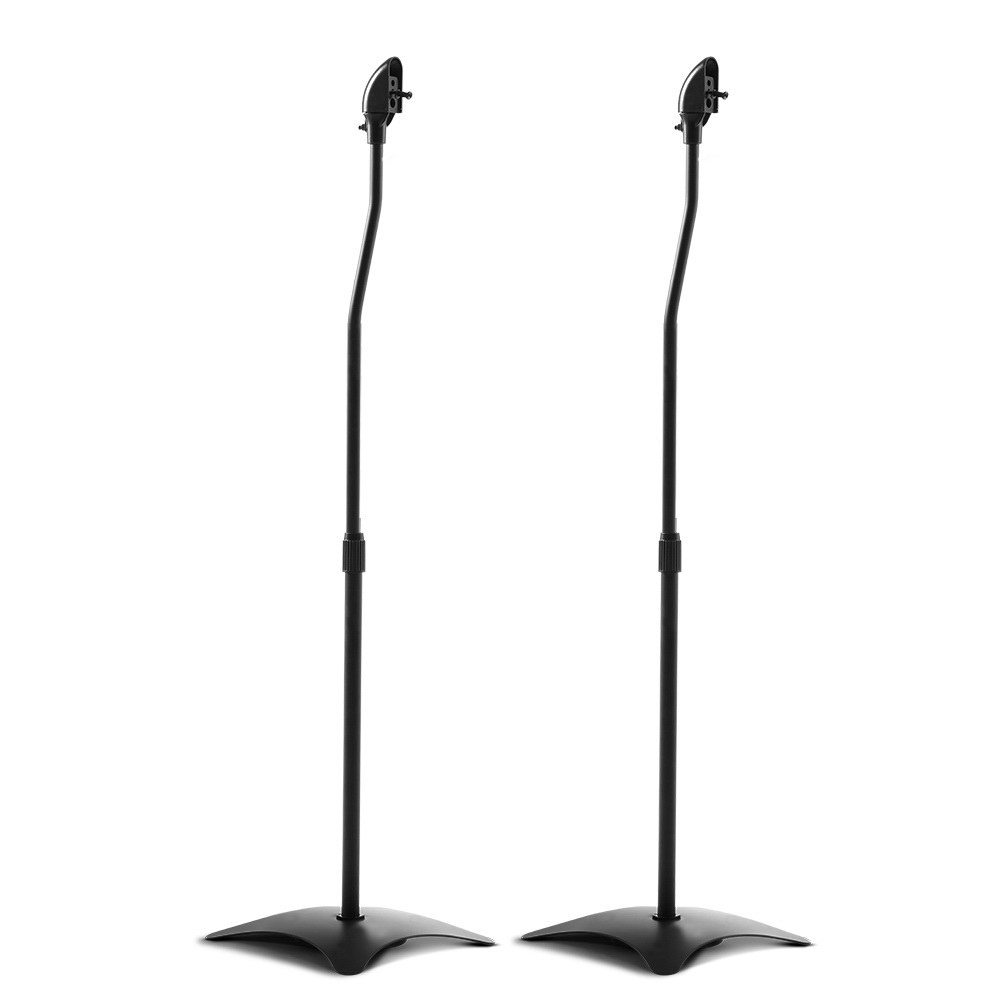 Set of 2 112CM Surround Sound Speaker Stand - Black